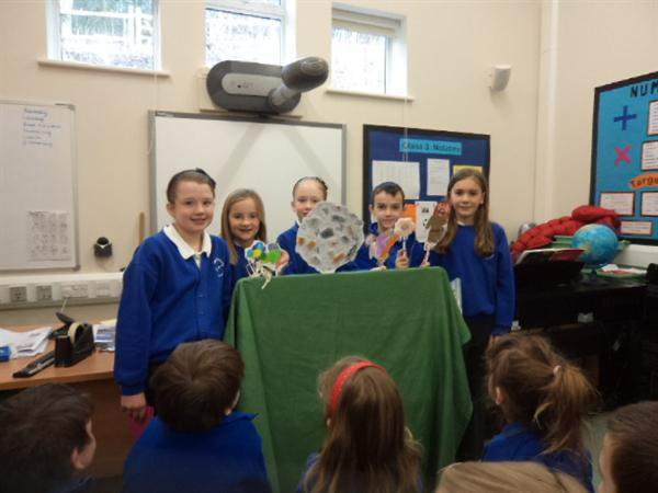 Telling the story of 'The Lost Sheep' in assembly