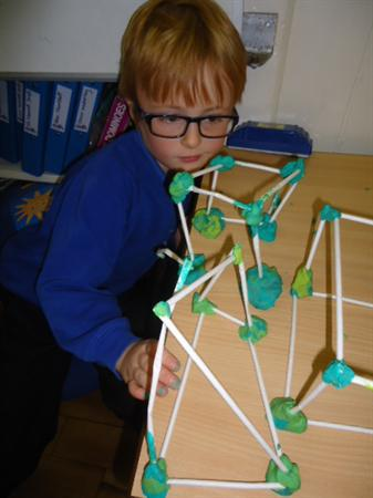Exploring 3D shapes in the classroom