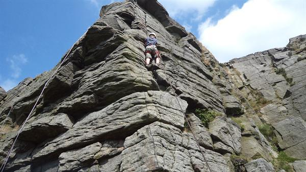 Climbing to the top at Whitehall