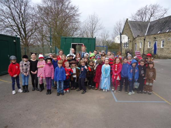 Dressing up for World Book Day