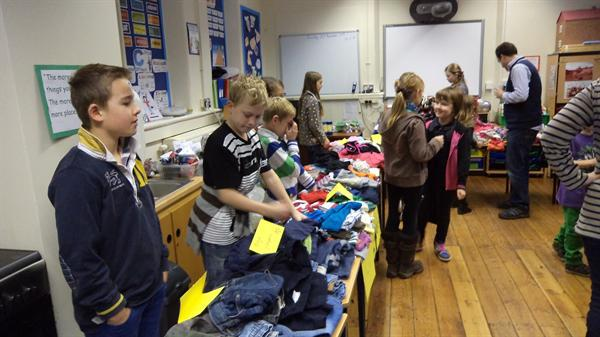 Selling jumble to raise even more money