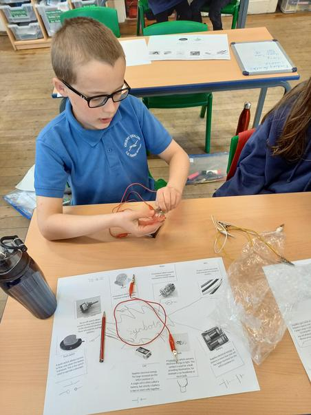 Complete concentration with making a circuit.