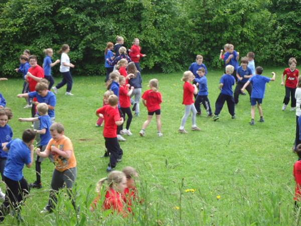 Warming up for small schools cross country