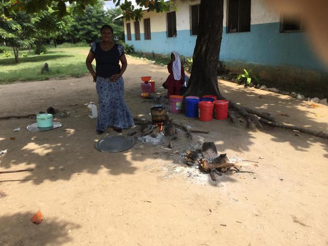 Martinshamba's cooking area