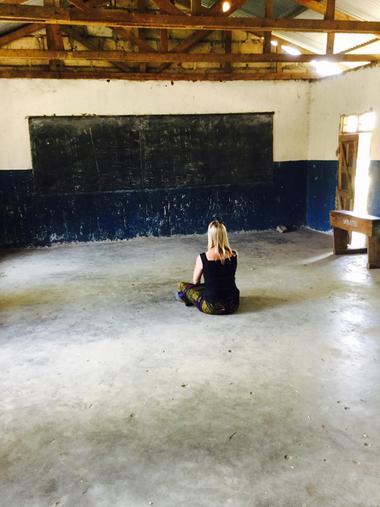 Lonely Miss Henderson in Nursery class