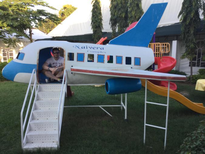 Mr Medcalf found a plane!