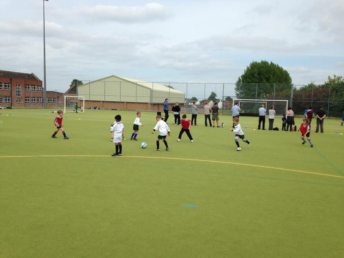 Year 1-2 Football Tournament at The Chase May 2015