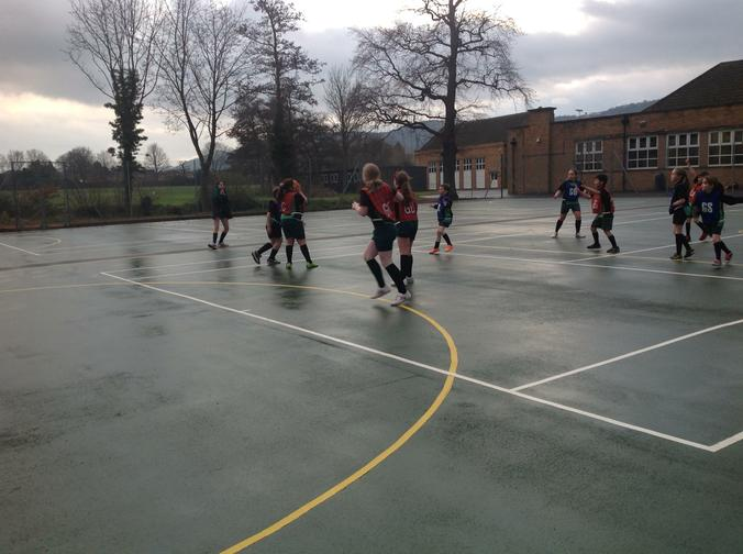 Netball Cluster Games - The Chase - March 2015