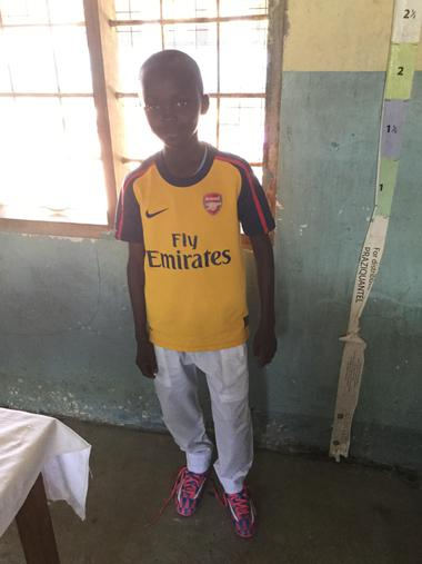 A new Arsenal kit