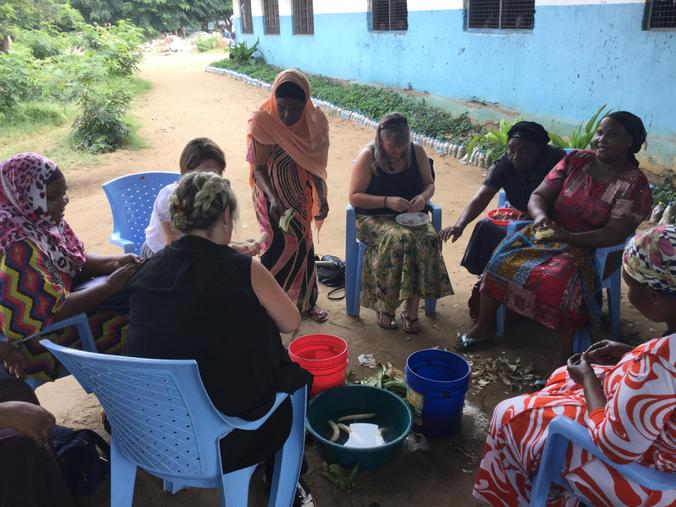 Cooking workshop with Martinshamba teachers