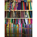 Choosing a fabric for our Tanzanian outfits
