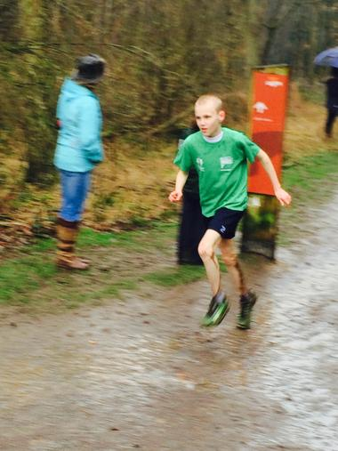 Cross Country county finals - March 2015