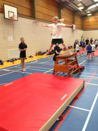 Year 3 Gymnastics Festival - March 2015