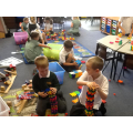 Working together to build and create.