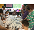 We have been creating Greek pottery!
