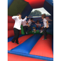 We enjoyed our sponsored bounce