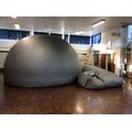 Mobile Planetarium in school