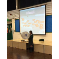 A member of Year 5 taught us about Diwali!