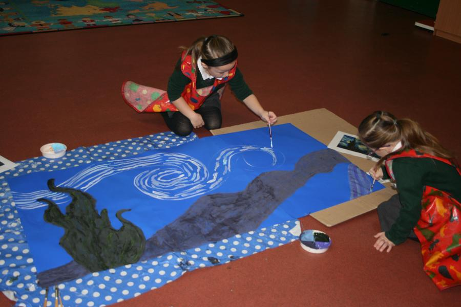 Futire Van Gogh's in the making