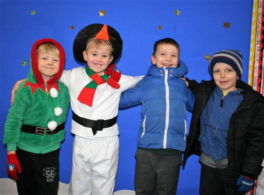 Year Two sang Frosty the Snowman