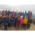 Y5 Reaching the summit of Moel Famau