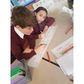Year 5 creating a timeline of Liverpool