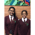 Deputy Head and Head girl
