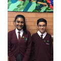 Deputy Head girl and Deputy Head boy