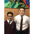 Deputy Head and Head boy