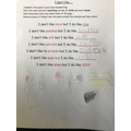 Super writing learning!