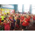 Learning Spanish dancing!