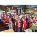 Heads, shoulders, knees and toes in Spanish