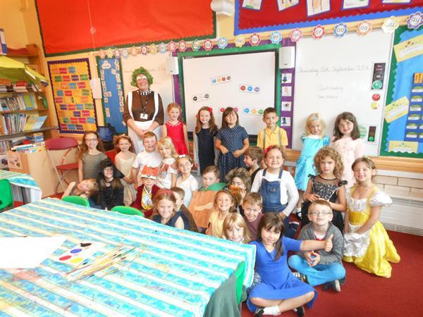 Roald Dahl week in Class 2