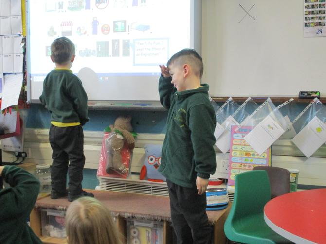 We retold the story of Jack and the Beanstalk