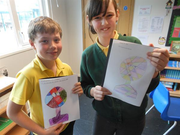 Abstract art based on the work of Paul Klee