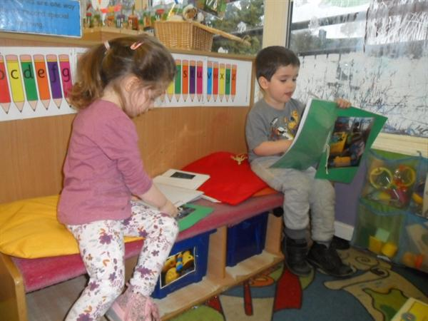 Reading learning stories