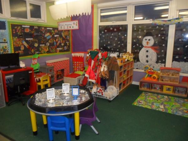 Feeling festive at Nursery