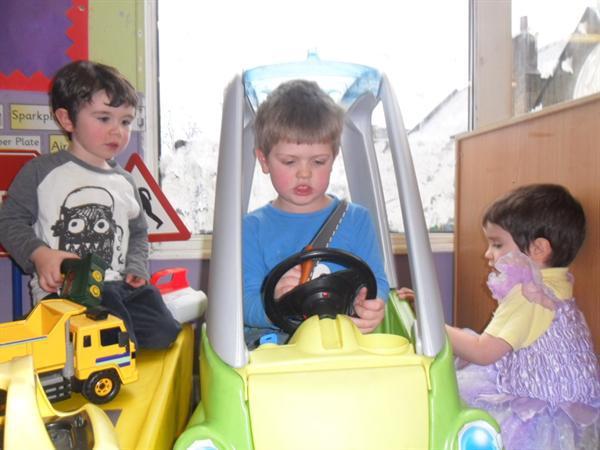 Mechanics role play area