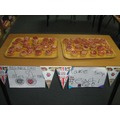 All classes made and sold their own cakes.