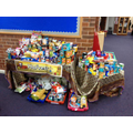 Harvest Food Collection - October 2015