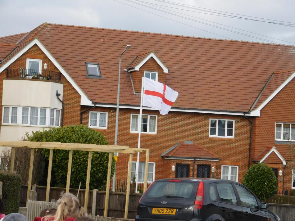 We even spotted an England flag.