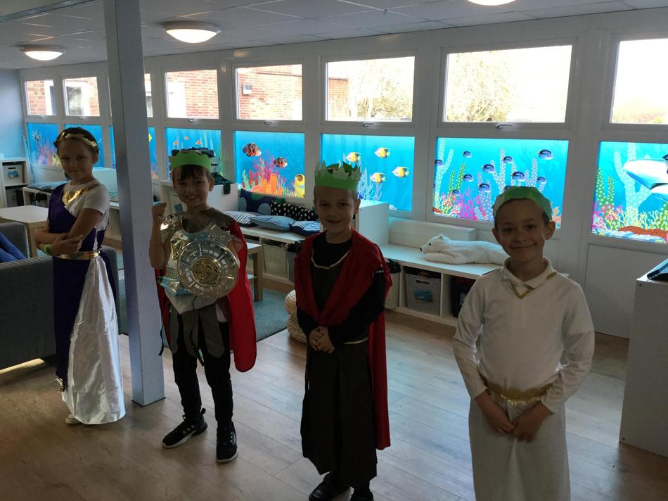 Look at our brilliant costumes!