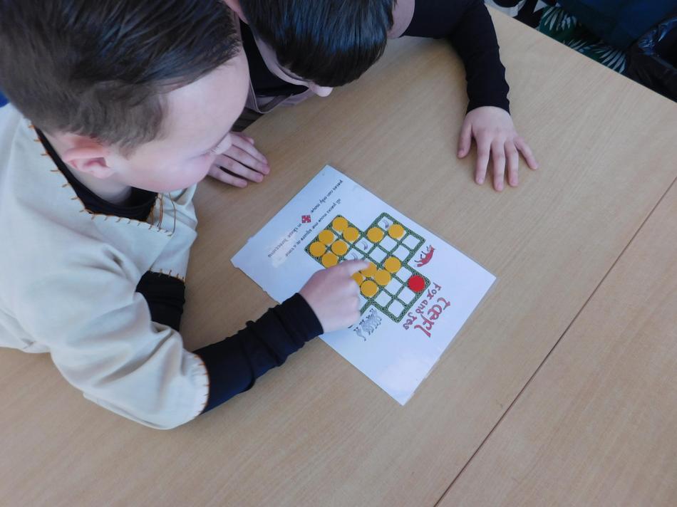 Playing Anglo-Saxon games.