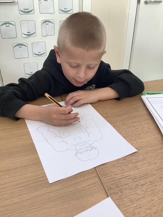 Practising pencil control