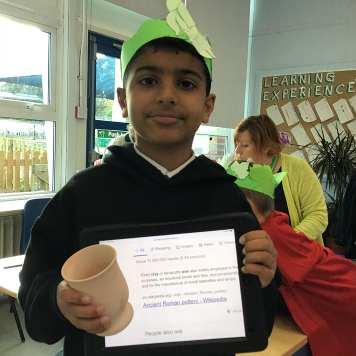 Roman cup.