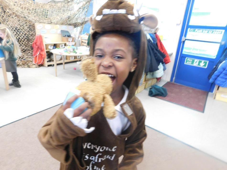 Watch out its the Gruffalo!