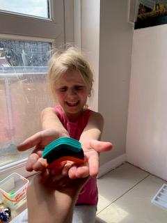 Maisie-Jane's rainbow.