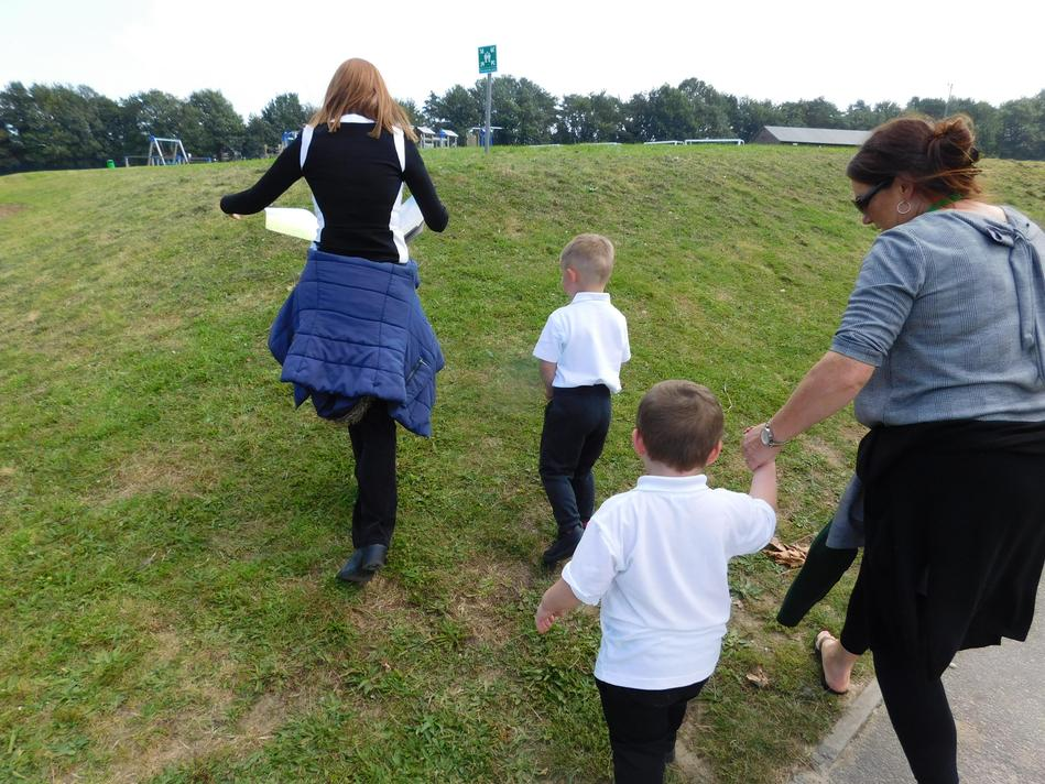 Going on a Bear Hunt with Mrs Prebble...