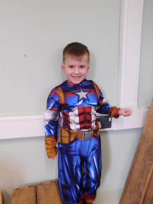 Alex you are a brilliant Captain America.