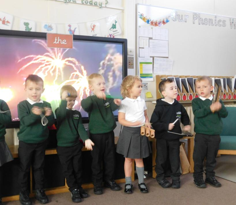Miss Elphick's Family Group